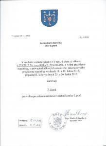 Počet členů volební komise volba prezidenta 0011