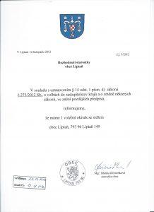Počet a sídlo volební komise volba prezidenta1