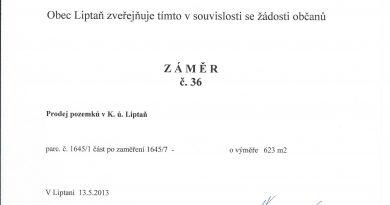 Záměr č. 36