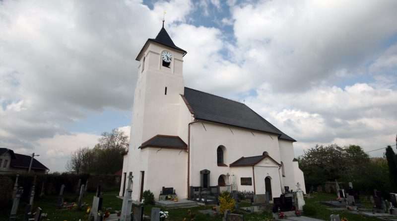 Kostel sv michala v hrozove